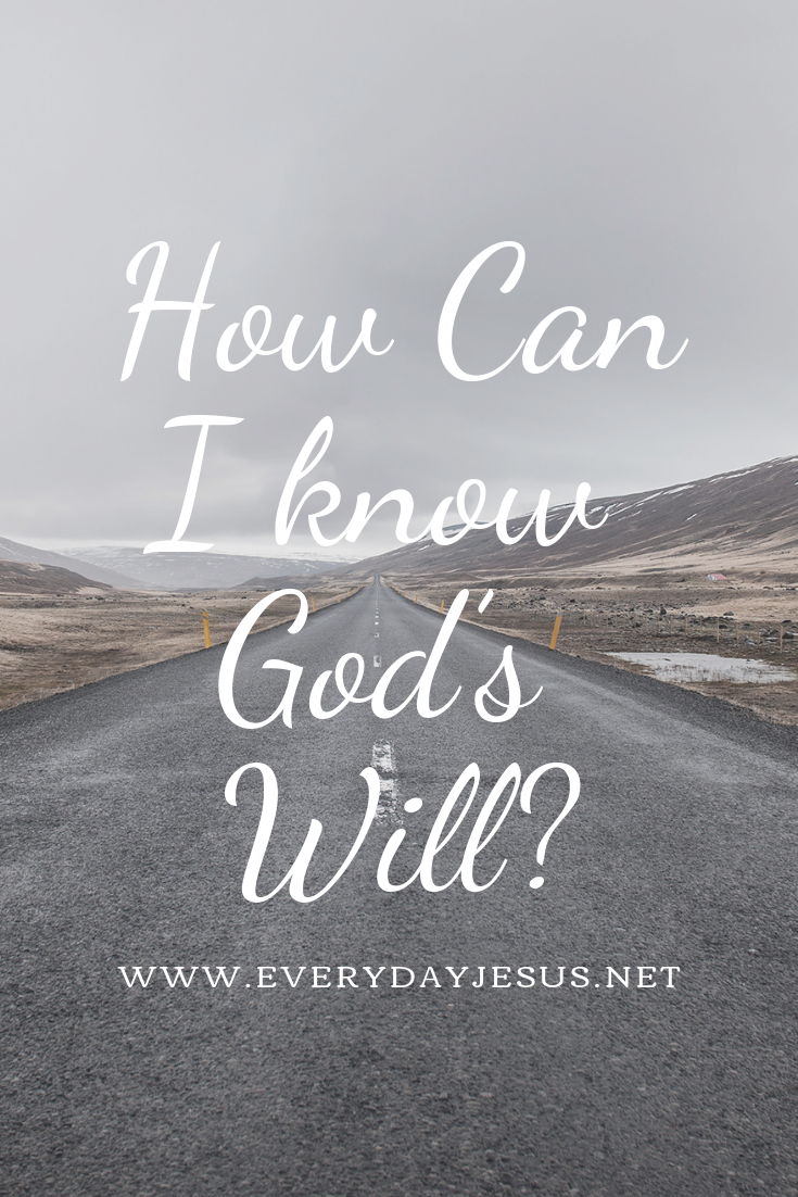 How Can I know God's Will_