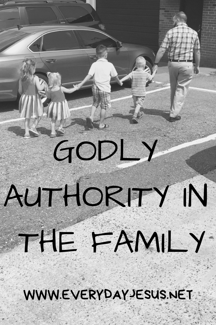Godly Authorirty In the Family